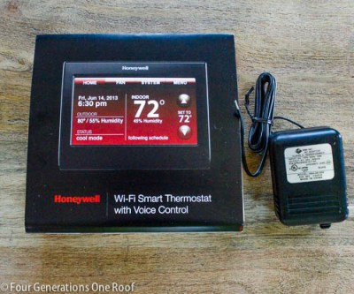 honeywell smart wifi thermostat with voice control how to