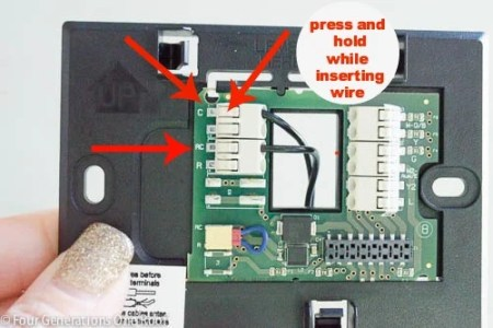 honeywell wifi thermostat with voice control how to directions