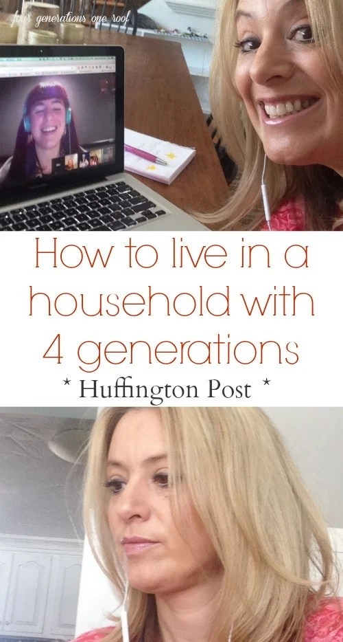 Huffington Post video 4 generations under one roof