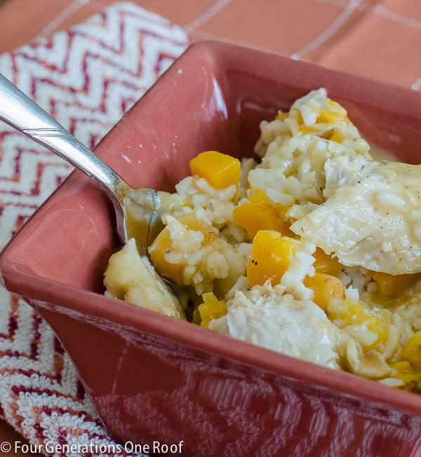 rotisserie chicken casserole -4