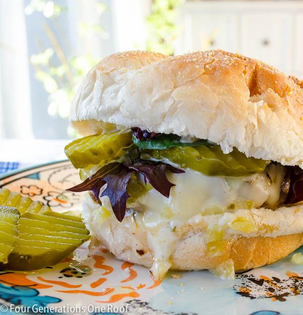 juicy hamburger recipe