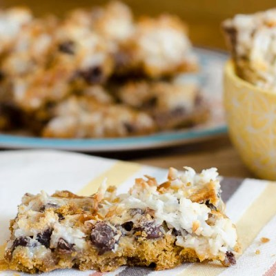 Magic Cookie Bars {marshmallowy delicious}