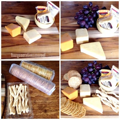 how to make a cheese and cracker platter
