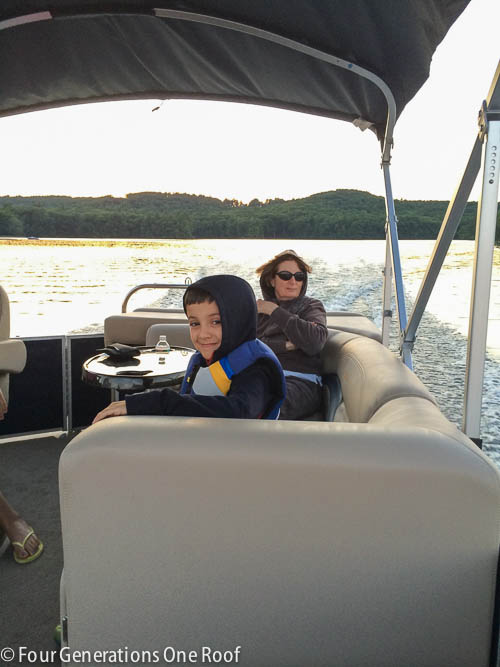 We bought a Pontoon Boat {summer fun}