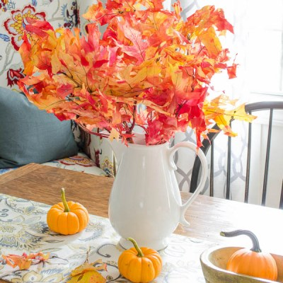 Pretty Fall Home Tour Four Generations One Roof