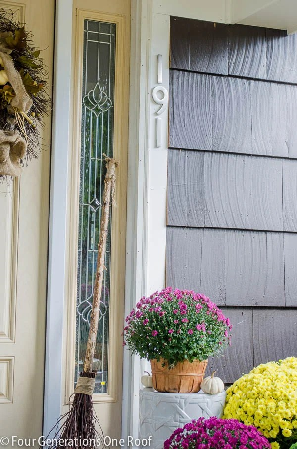 new portico- curb appeal reveal: must see before