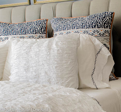 Gorgeous Navy blue master bedroom makeover -6