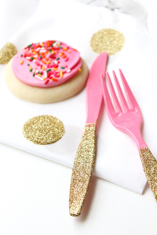 DIY-glittered-utensils
