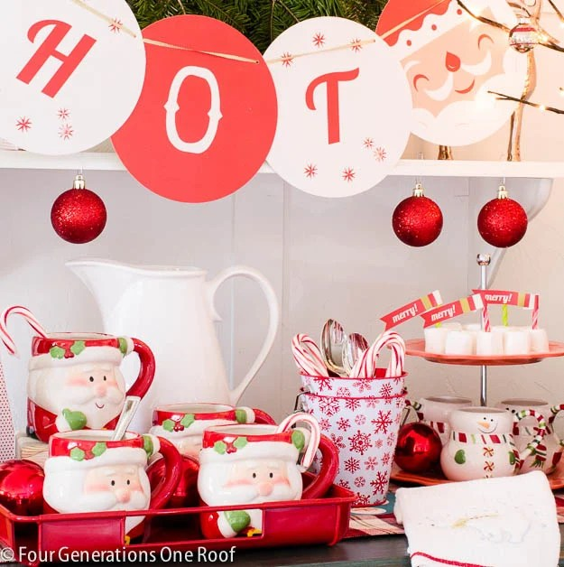 how to make a hot chocolate bar / simple and easy tips
