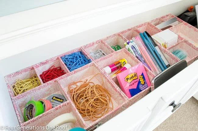Office drawer organization-14