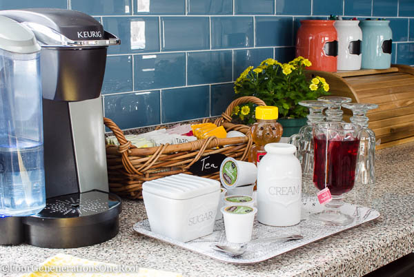 Warm up with a Winter Tea Station