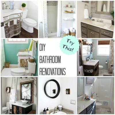 TRY THIS: DIY Bathroom Renovations