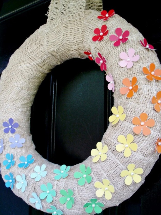 paint-chip-rainbow-burlap-wreath