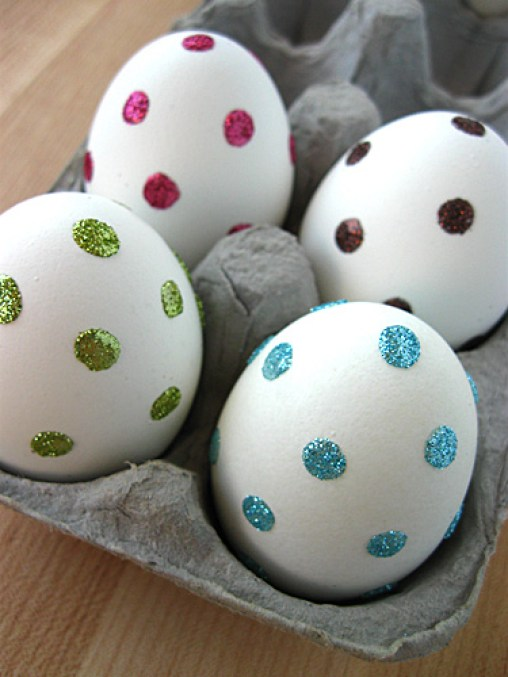 polka-dot-glitter-eggs