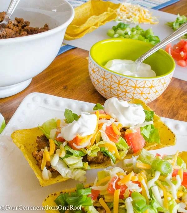 how to make tacos/flat bottom taco shells