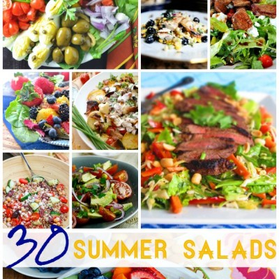 30 Summer Salads that will have your mouth watering!
