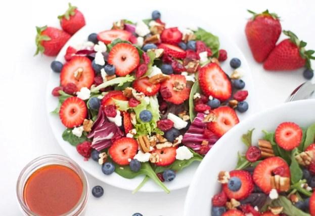 berries-feta-salad