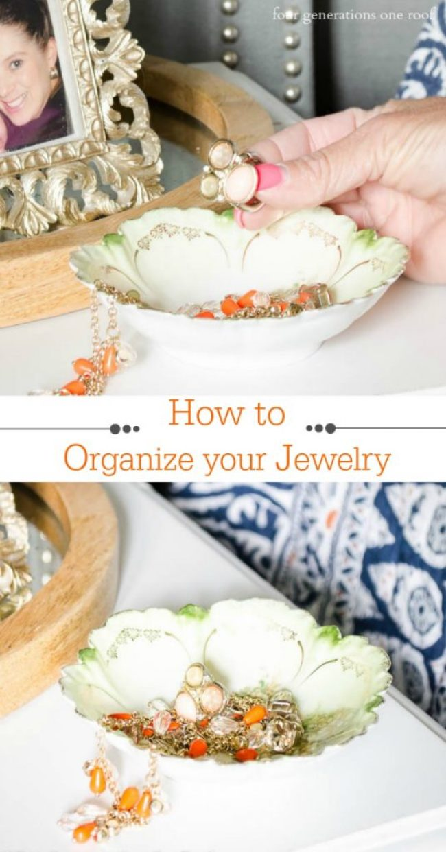 How to organize your jewelry in under 10 minutes