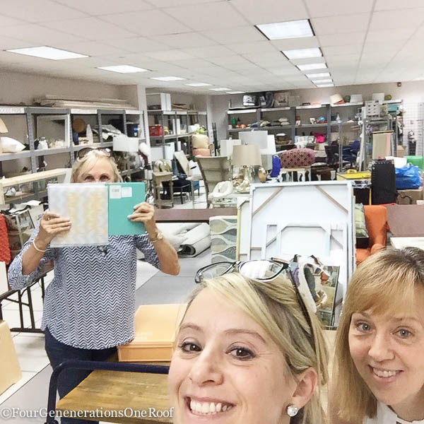behind the scenes HomeGoods photo shoot