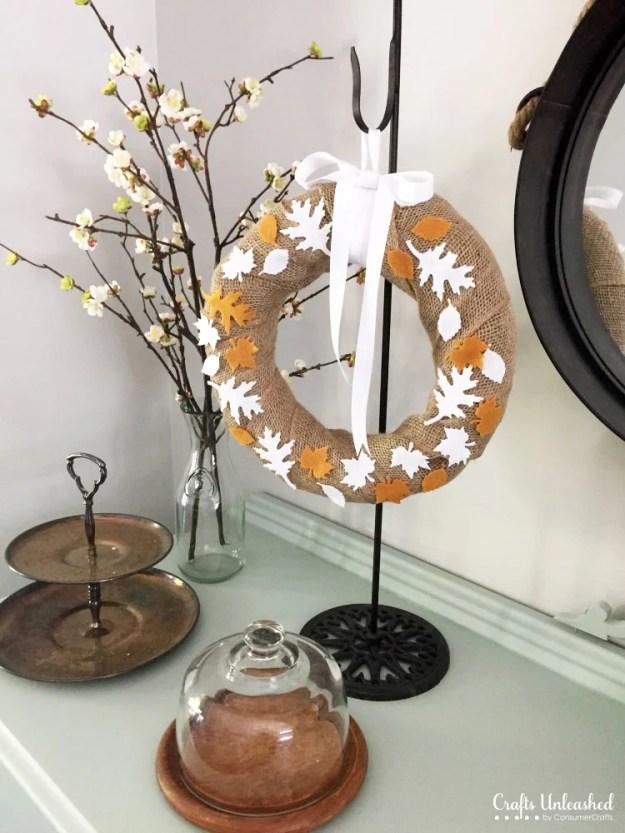 burlap-felt-leaf-wreath