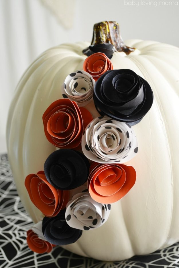 paper-flower-pumpkin