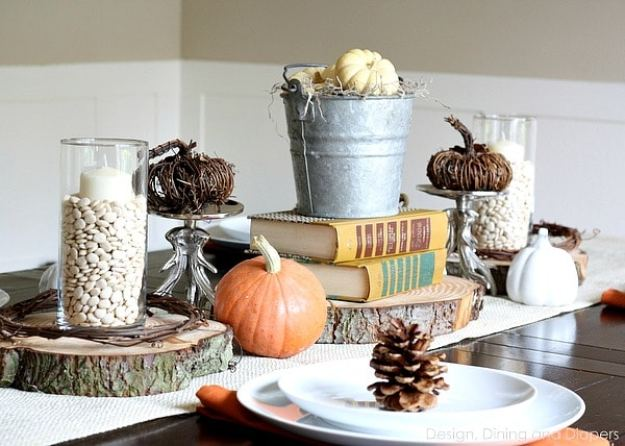 rustic-books-fall-table