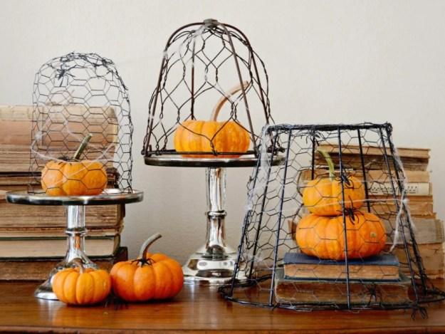 Caged-Pumpkins