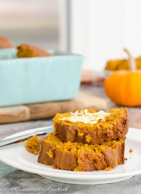 Easy Pumpkin Bread from HomeGoods