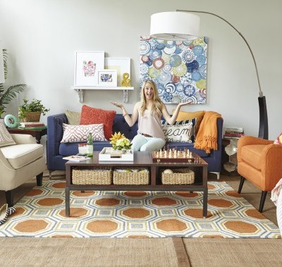 Room Reveals from the HomeGoods photo shoot