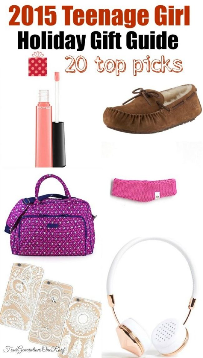 2015 Holiday gift guide teenage girl