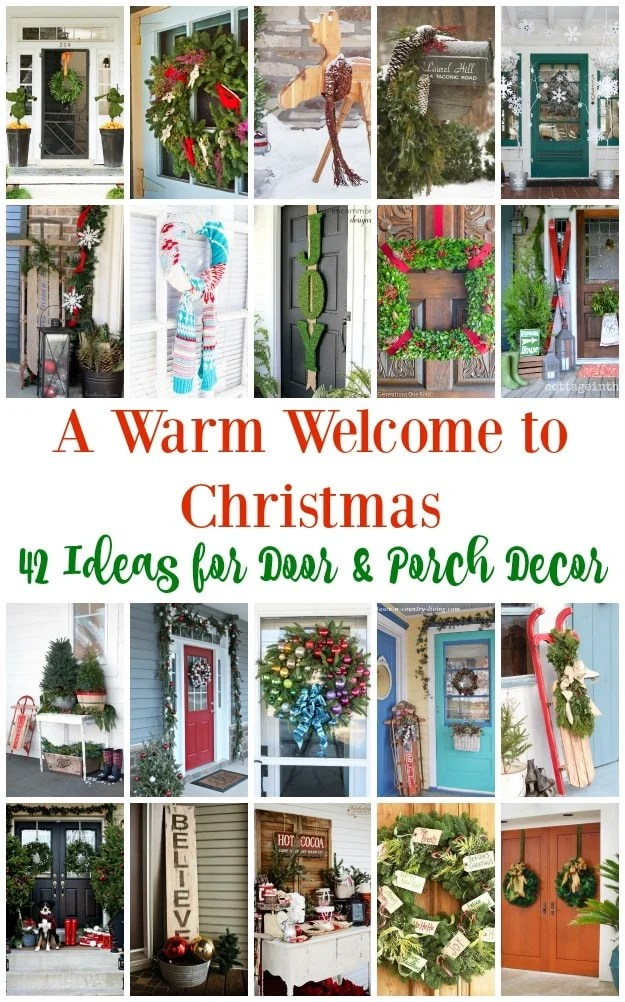 Warm-Welcome-42-Ideas-Christmas-Porch-Door