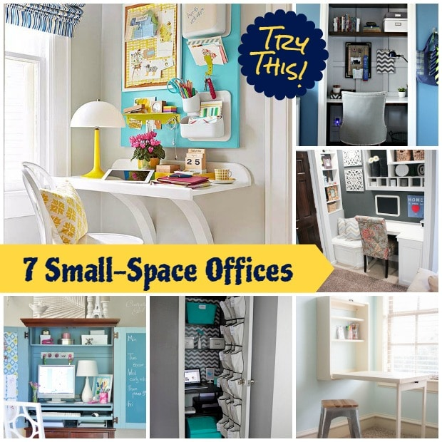 36 Tips for Getting Organized in 2016 7-Small-Space-Offices