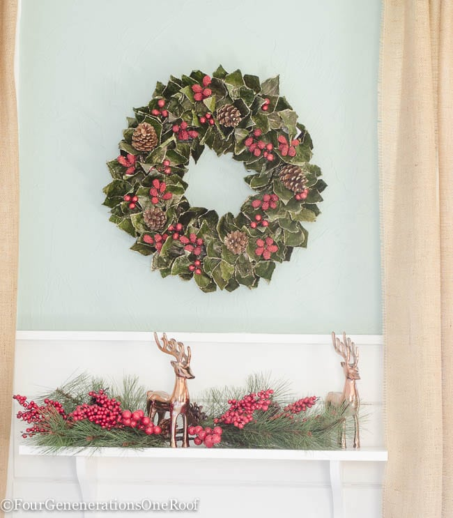 Traditional Christmas Home Tour 2015
