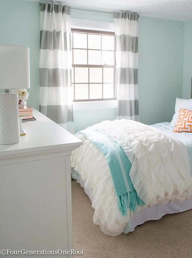 Sophisticated Girls Bedroom Teen Makeover - Four ... on Teen Room Girl  id=22940