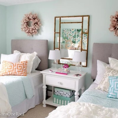 Sophisticated Girls Bedroom Teen Makeover