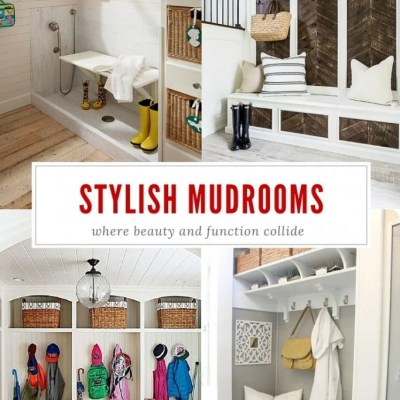 Stylish and Functional Mudroom ideas