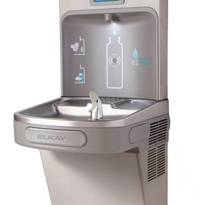 EzH2o Bottle Filling Station + giveaway {perfect for schools}