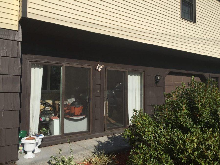 New Patio Doors - foyer Renovation Vista Grande Patio Doors Reveal