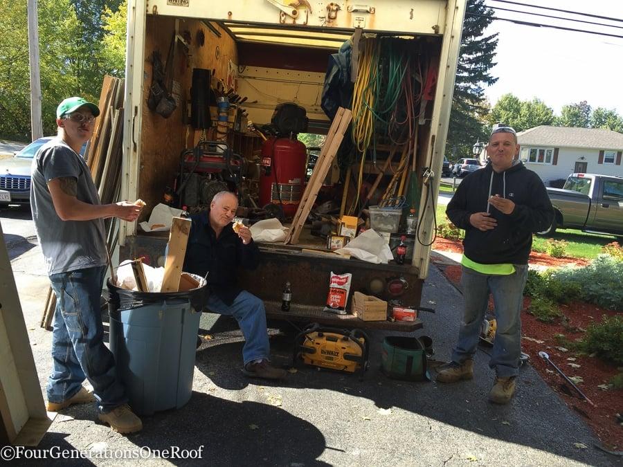 How to install a door / Installing new doors foyer renovation-42