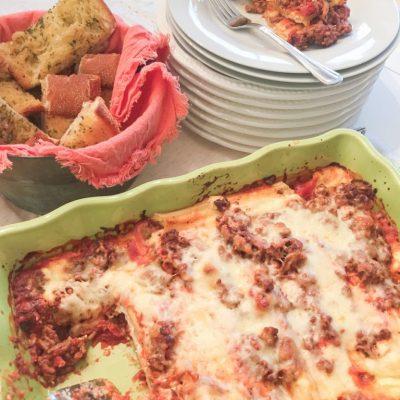 Sicilian Style Easy Manicotti Recipe