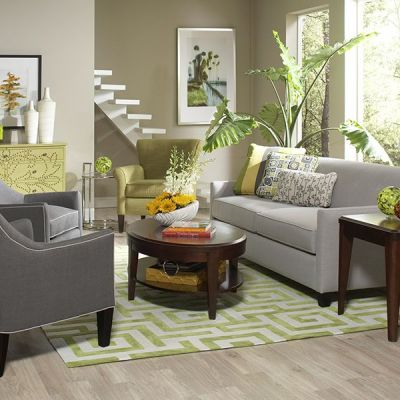 Decorating Temporary Spaces {Furniture Rental}