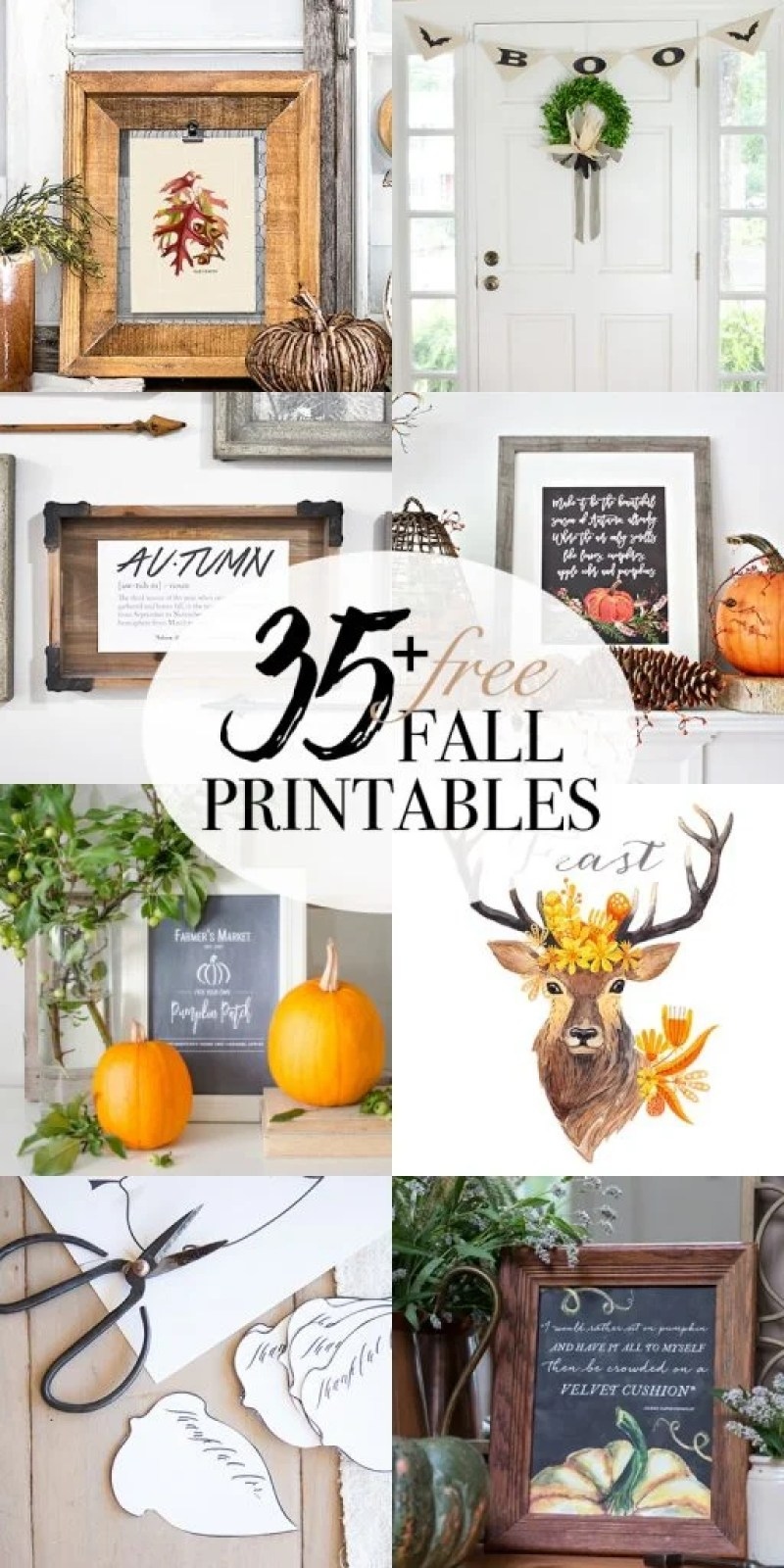 free-thankful-tags-fall-printable / 35 Free Printables