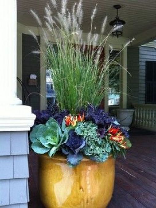 Favorite Fall Planter Ideas | Four Generations One Roof