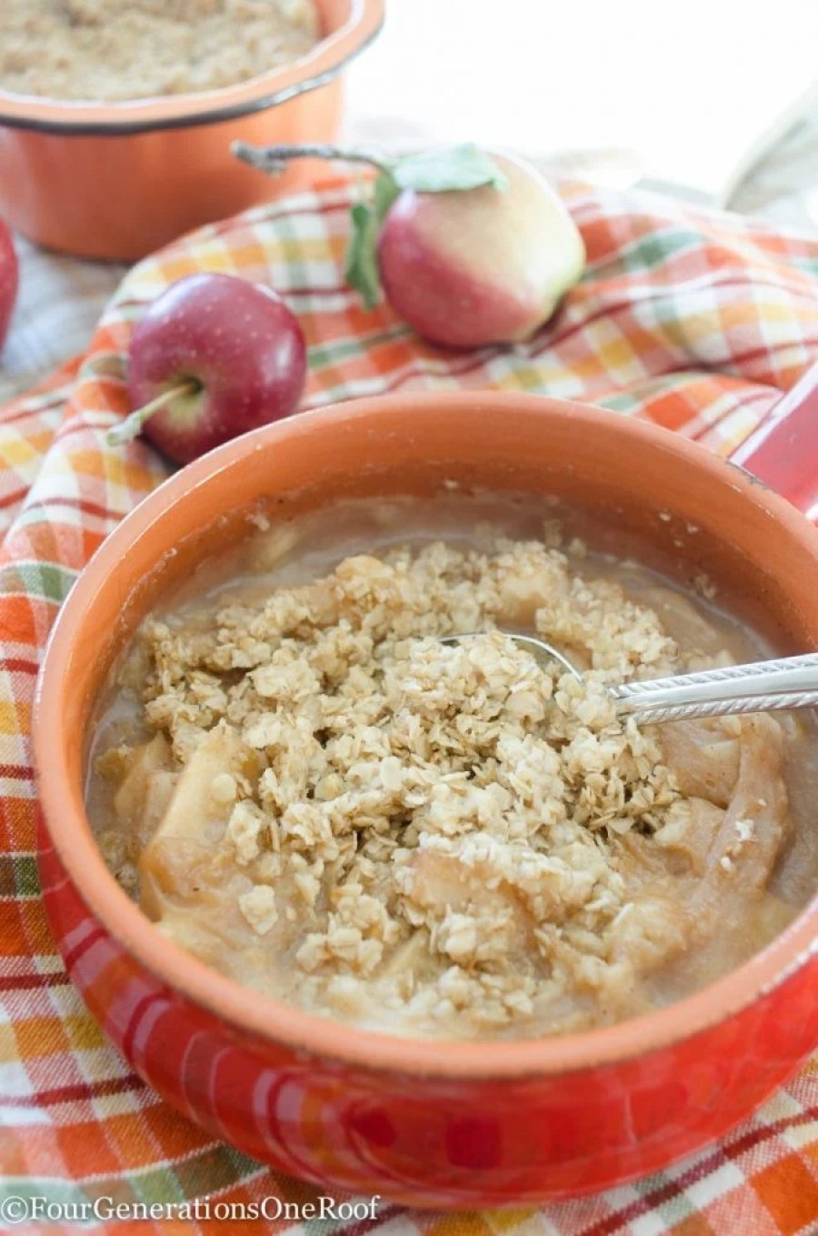 no-sugar-added-apple-crisp