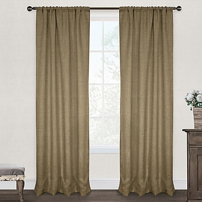 My favorite burlap curtains