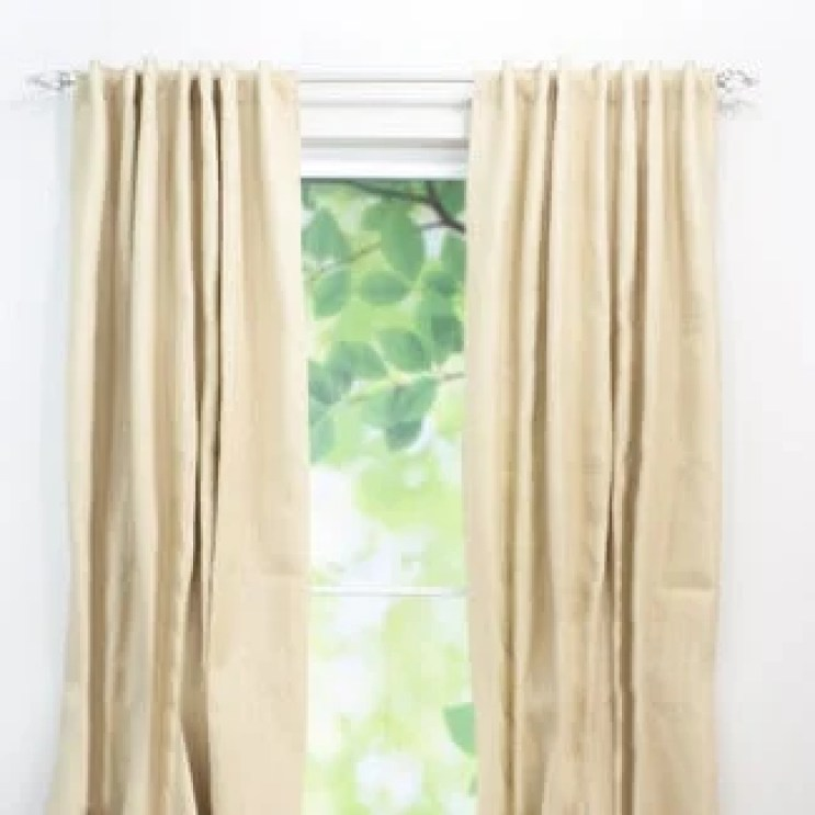 Favorite Burlap Curtains | Four Generations One Roof