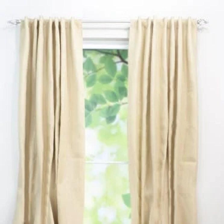 Favorite Burlap Curtains | Four Generations One Roof
