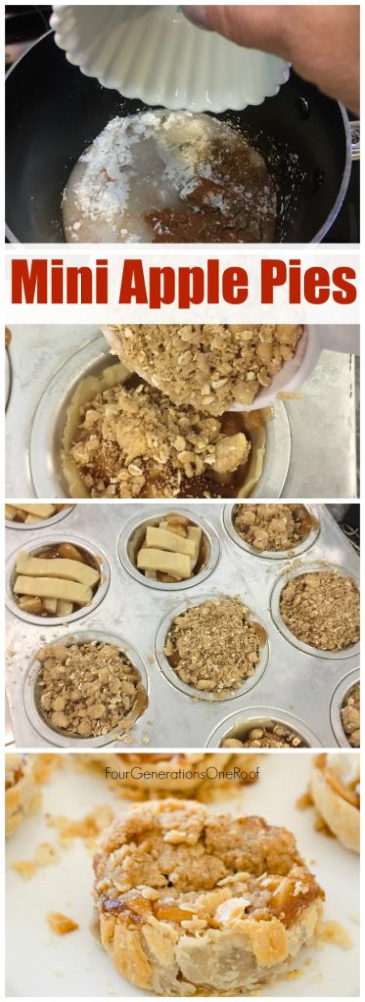 Mini Apple Pie + Mini Apple Crispt Recipe