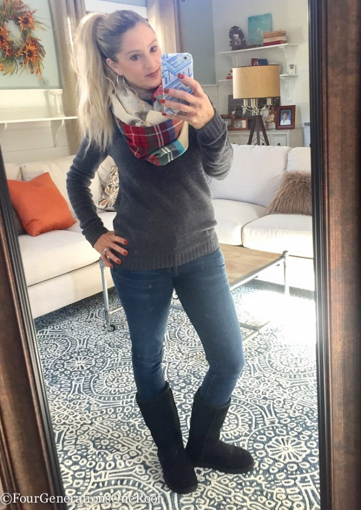 My favorite fall outfits (jeans + sweaters)