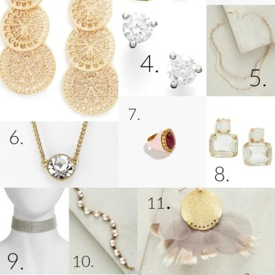 13 Holiday Jewelry Show Stoppers {party + stocking stuffers}